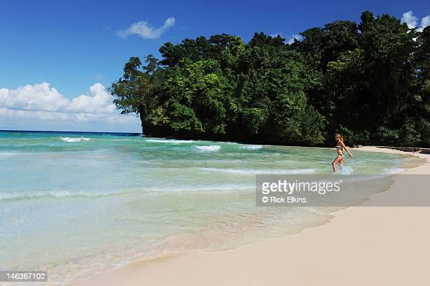 frenchman's cove, jamaica - jamaica imagens e fotografias de stock
