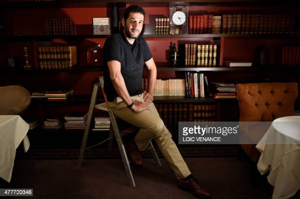 FrenchMoroccan film director Nabil Ayouch poses on June 19 2015 in Paris His last movie Much Loved which follows the life of prostitutes was banned...