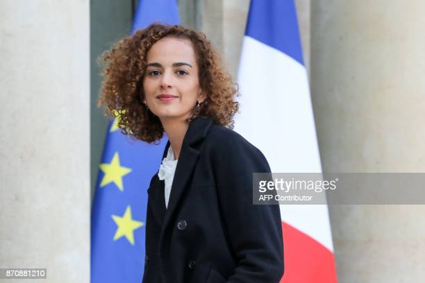 FrenchMoroccan writer Leila Slimani arrives to meet with French president at the Elysee palace on November 6 in Paris Leila Slimani will be appointed...