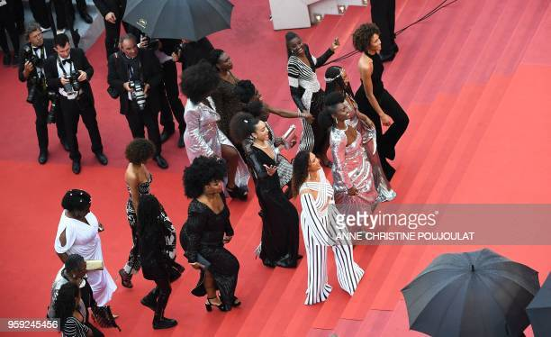 FrenchPortuguese actress Sara Martins French actress Firmine Richard FrenchCameroonian MariePhilomene Nga French actress and Miss France 2000 Sonia...