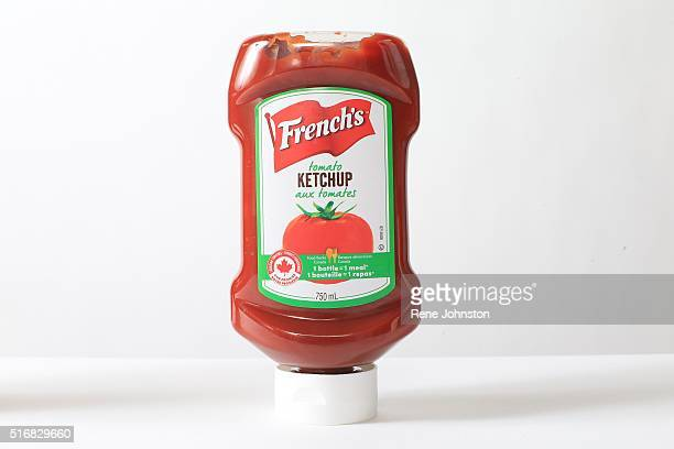 French's ketchup and Heinz's ketchup for story on how Heinz now makes its ketchup in the States without Leamington's tomatoes And French's better...