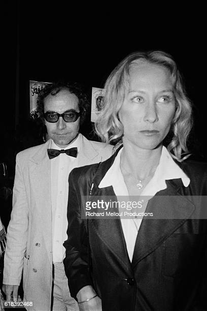 FrenchSwiss director JeanLuc Godard and his collaborator AnneMarie Mieville present the movie Sauve qui peut during the 33rd Cannes Film Festival