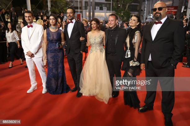 FrenchTunisian producer Nadim Cheikhrouha Tunisian director Kaouther Ben Hania Tunisian actress Mariam Al Ferjani Tunisian actor Ghanem Zrelli...