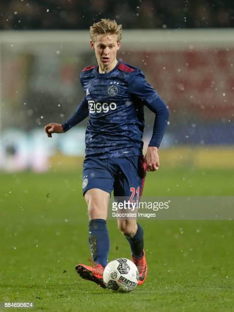 Frenkie de Jong of Ajax during the Dutch Eredivisie match between Fc Twente v Ajax at the De Grolsch Veste on December 2 2017 in Enschede Netherlands