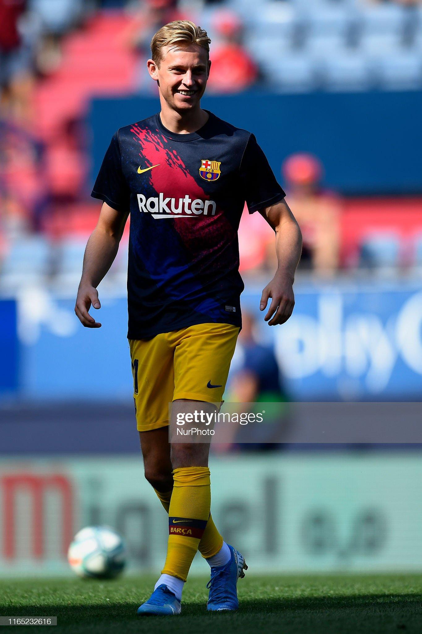 صور مباراة : أوساسونا - برشلونة 2-2 ( 31-08-2019 )  Frenkie-de-jong-of-barcelona-during-the-warmup-before-the-liga-match-picture-id1165232616?s=2048x2048