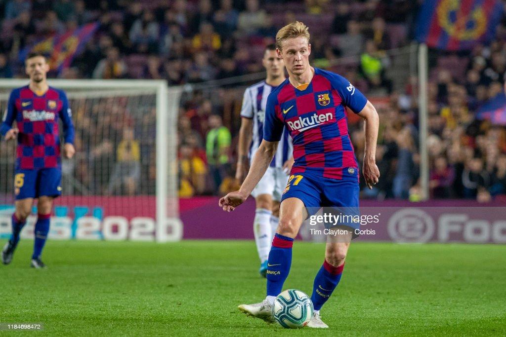 Barcelona V Real Valladolid, La Liga regular season. : News Photo