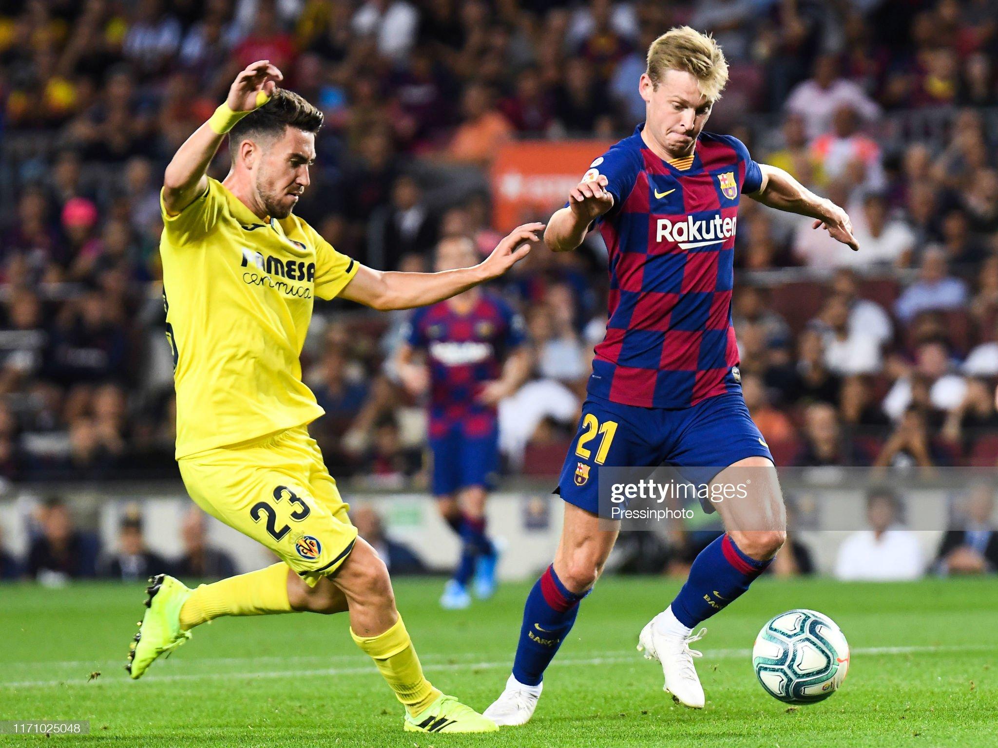 صور مباراة : برشلونة - فياريال 2-1 ( 24-09-2019 )  Frenkie-de-jong-of-fc-barcelona-and-moi-gomez-of-villarreal-cf-during-picture-id1171025048?s=2048x2048
