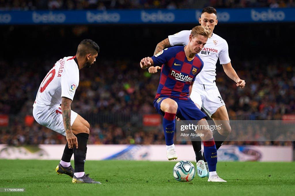 FC Barcelona v Sevilla FC  - La Liga : Fotografía de noticias