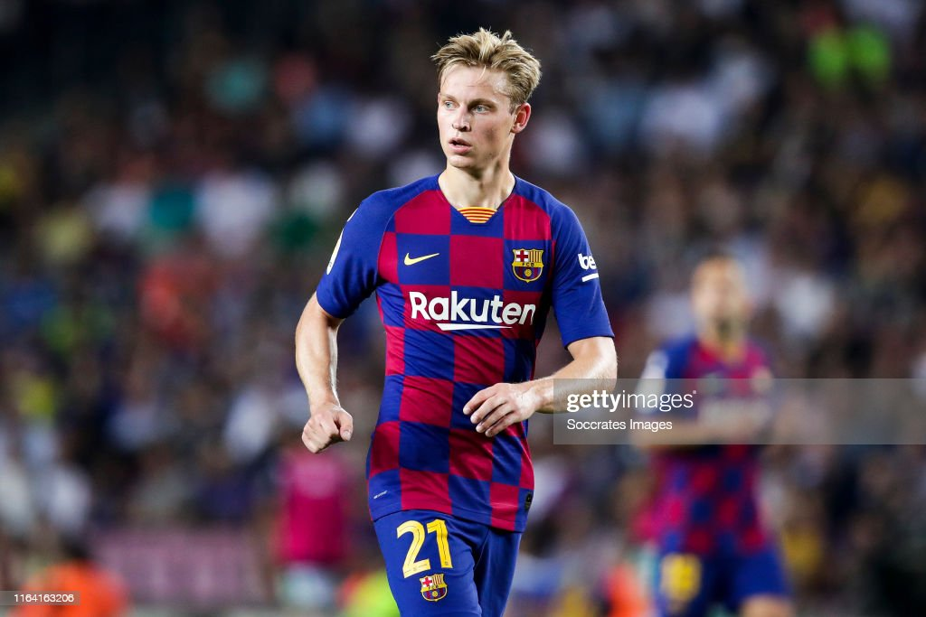 Frenkie De Jong Of Fc Barcelona During The La Liga Santander Match News Photo Getty Images