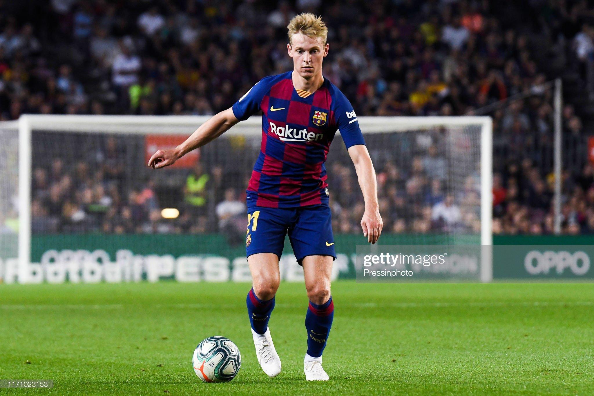 صور مباراة : برشلونة - فياريال 2-1 ( 24-09-2019 )  Frenkie-de-jong-of-fc-barcelona-during-the-liga-match-between-and-picture-id1171023153?s=2048x2048