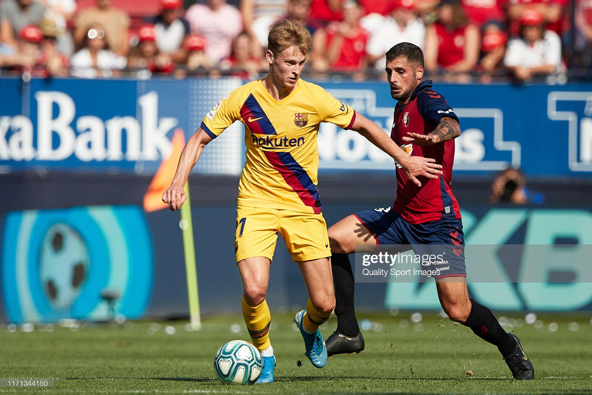 صور مباراة : أوساسونا - برشلونة 2-2 ( 31-08-2019 )  Frenkie-de-jong-of-fc-barcelona-in-action-during-the-liga-match-ca-picture-id1171344150?s=2048x2048