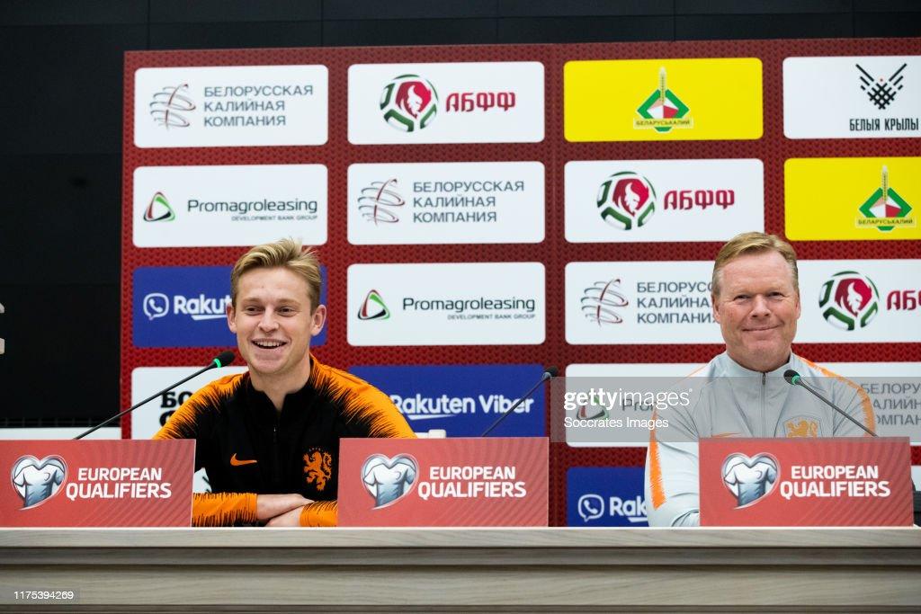 Holland training in Belarus : News Photo