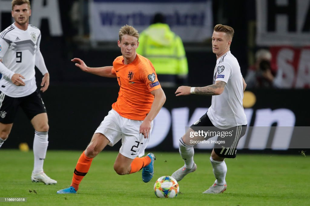 Germany  v Holland  -EURO Qualifier : News Photo