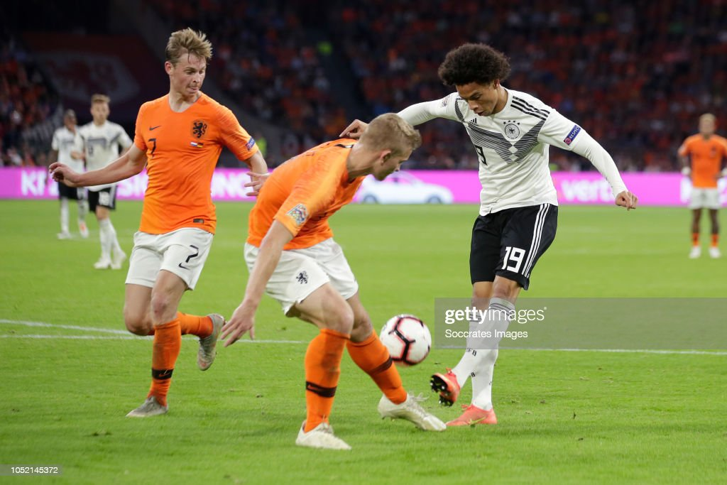 Frenkie De Jong Of Holland Matthijs De Ligt Of Holland