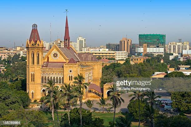 Frere Hall from above