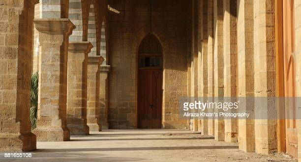 frere hall karachi - pakistan. - social history stock pictures, royalty-free photos & images