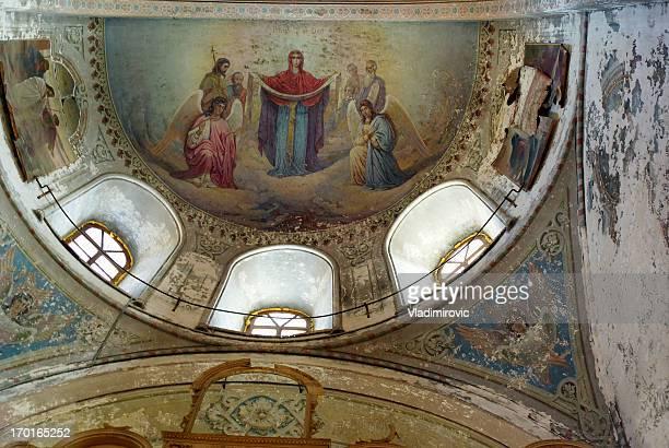 fresco church - jesus christ photos stock pictures, royalty-free photos & images