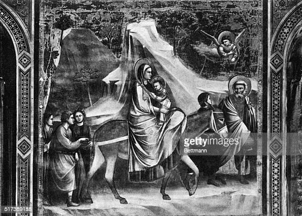 Fresco cycle completed circa 1305 Cappella degli Scrovegni Padua Italy