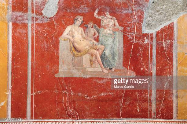 Fresco in the House with Garden a new excavation in the Regio V of the Pompeii excavations