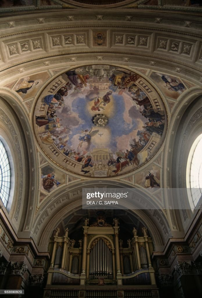 vault of the cathedral of st john the evangelist pictures getty images