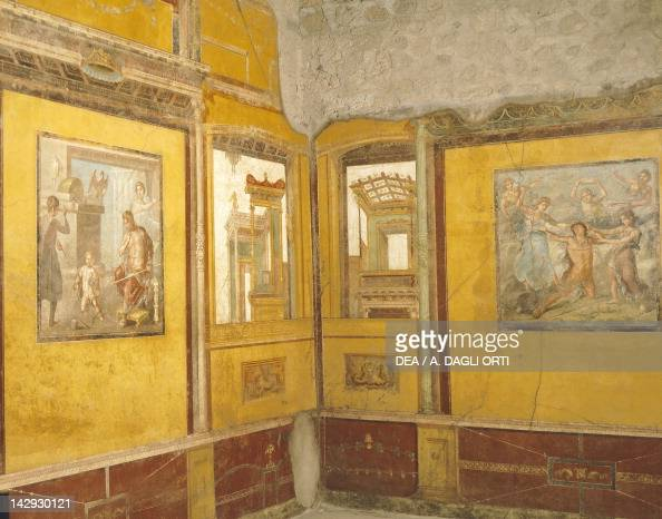 Frescoes from the House of Vettii Pictures | Getty Images