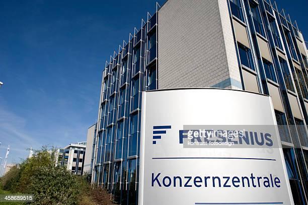 fresenius headquarter, bad homburg - bad homburg stock pictures, royalty-free photos & images
