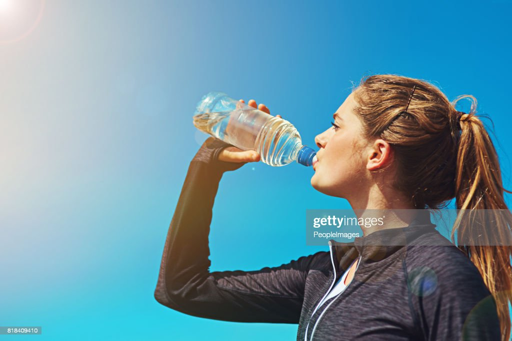 Fresh air and water, what a great combination : Stock Photo
