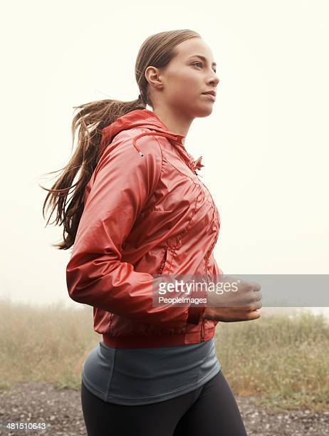 fresh air jog - endurance stock pictures, royalty-free photos & images
