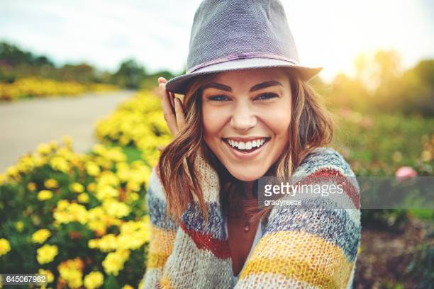 fresh air makes me feel happy all over - springtime stock pictures, royalty-free photos & images