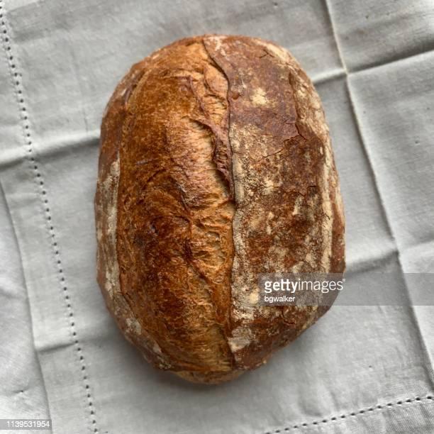 Fresh Artisinal Soudough Bread Loaf