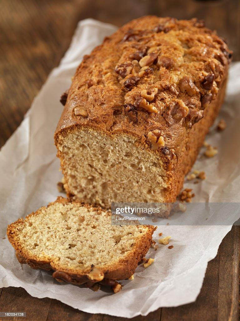 Fresh Baked Banana Bread : Stock Photo