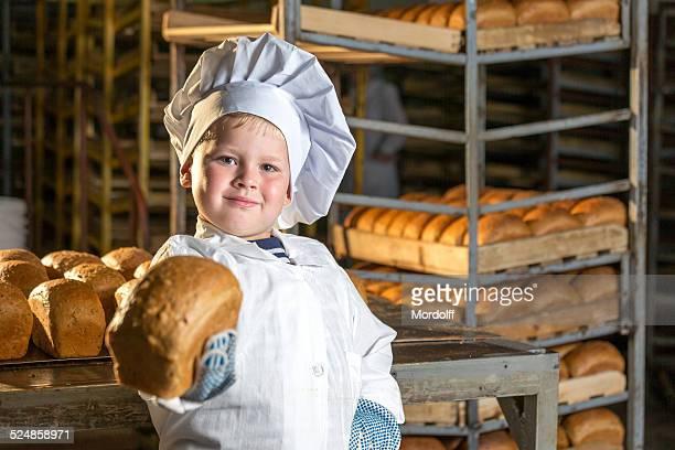 Frisch gebackene Brot, bitte