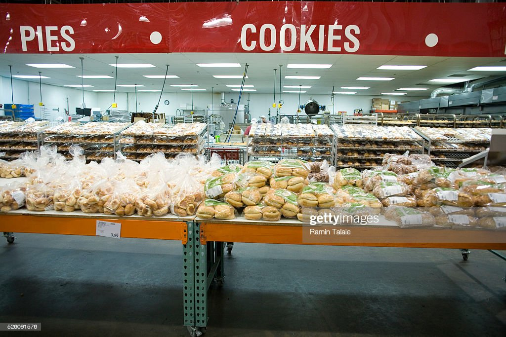 Fresh baked good on sale at Costco : News Photo