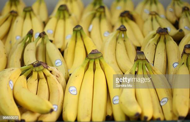 Fresh bananas are on display but prices are set to rise in the next budget announcement if GST is increased on fruit and vegetables on May 18, 2010...