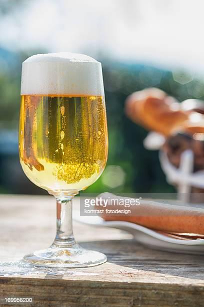 爽やかなビールやソーセージ、ドイツのフランクフルト