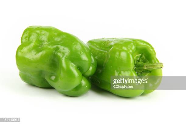 fresh bell peppers - green bell pepper stock pictures, royalty-free photos & images