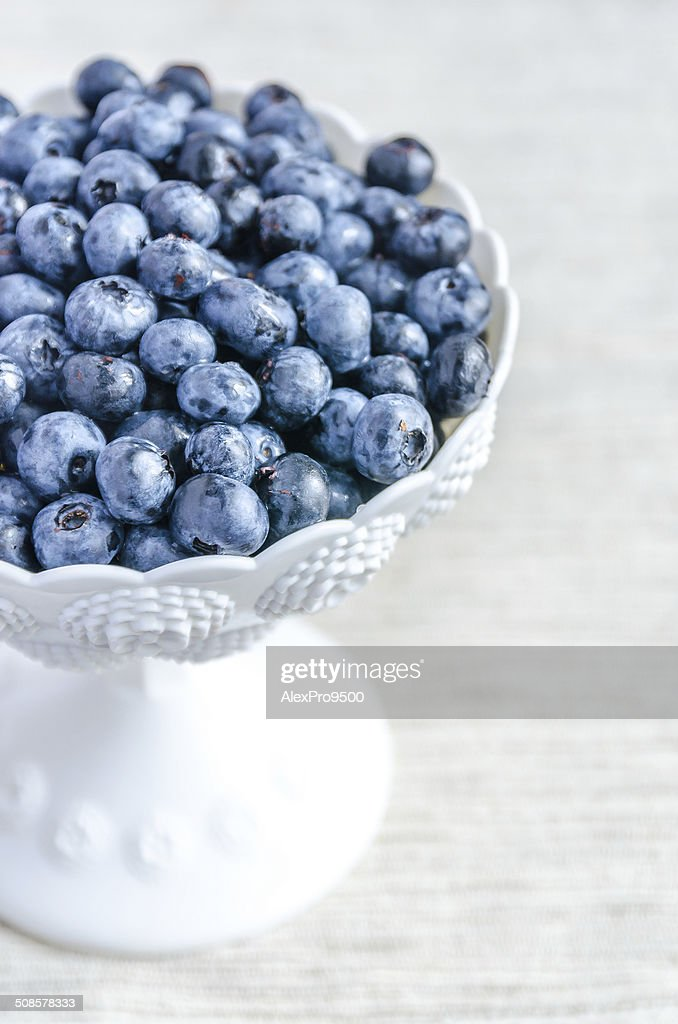 Fresh blueberries : Stock Photo