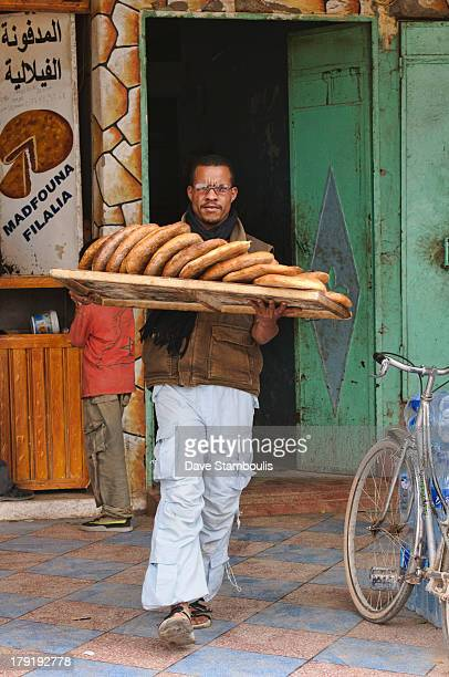 CONTENT] fresh bread from the bakery in Rissani Saharan Morocco