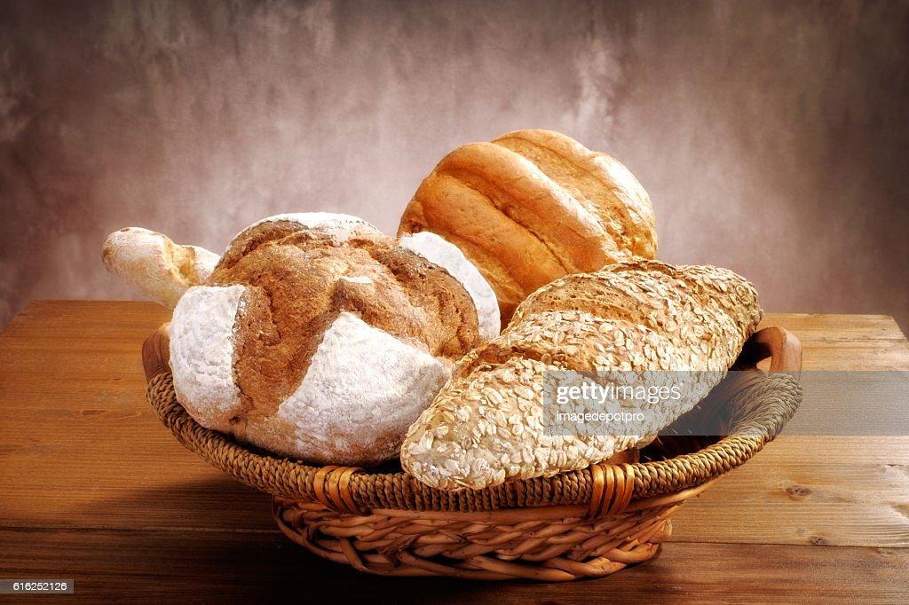 Pão fresco : Foto de stock