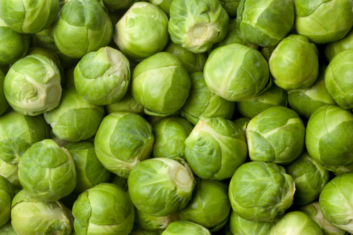 Fresh Brussel sprouts 137593114