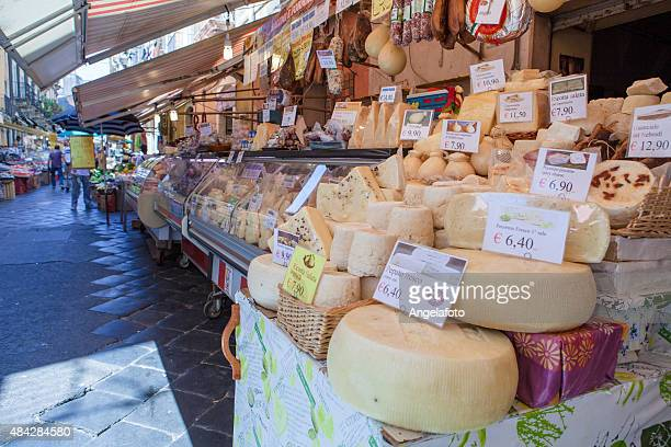 Frischer Käse im Street-Markt