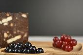 fresh chocolate cake