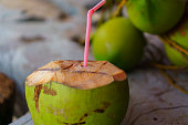 coconut thailand food fruit tropical climate