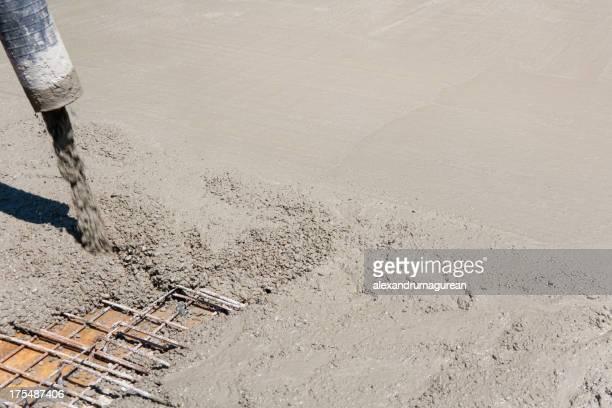 Di cemento fresco