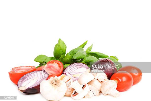 fresh cooking ingredients
