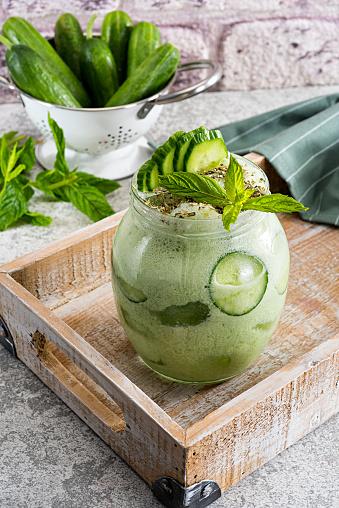 Fresh Cucumber Smoothie - gettyimageskorea
