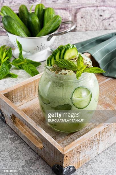 Fresh Cucumber Smoothie