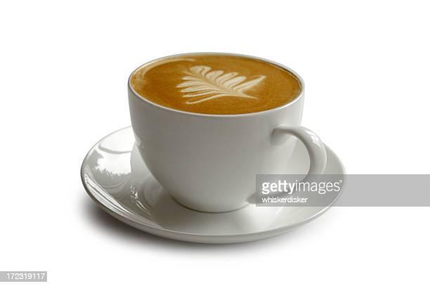 Tasse Kaffee mit clipping path