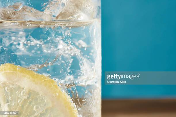 fresh drink. - carbonated water stock pictures, royalty-free photos & images