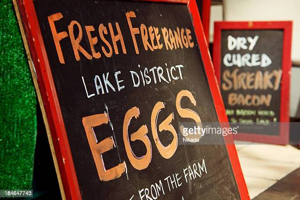Frische Eiern